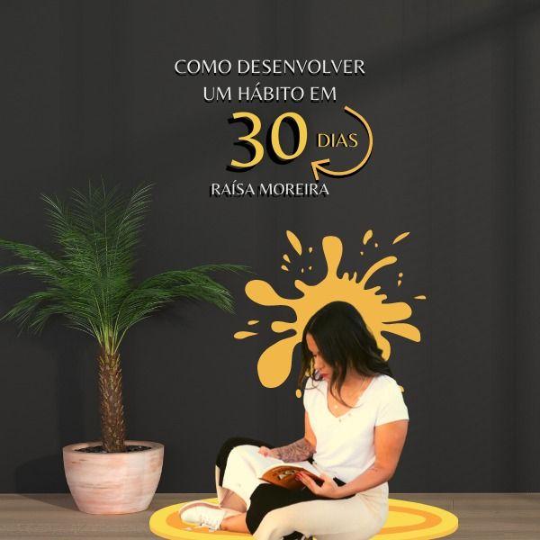 Imagem principal do produto COMO DESENVOLVER UM HÁBITO EM 30 DIAS