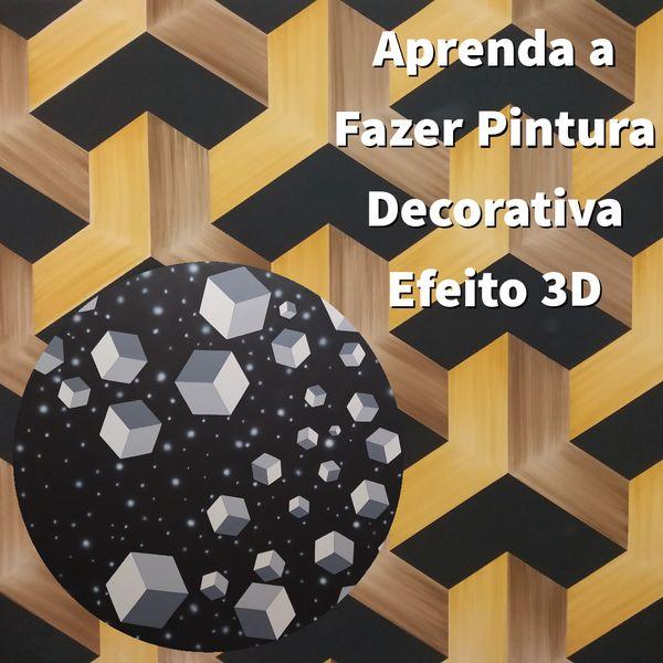 Imagem principal do produto Pintura Decorativa Efeito 3D 1.0