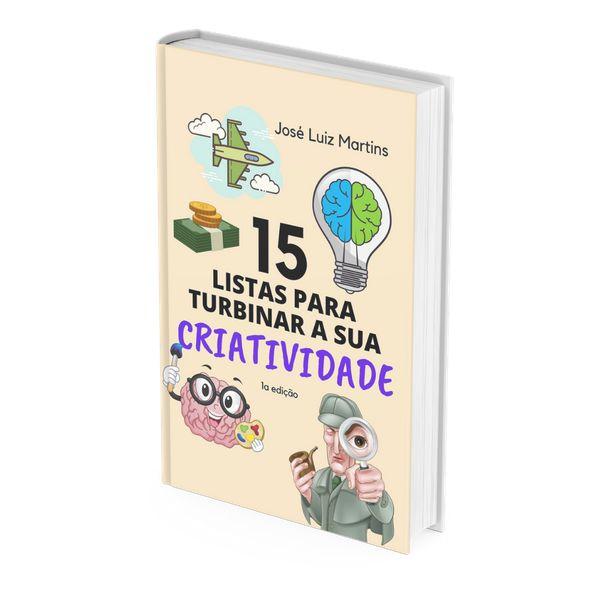 Imagem principal do produto 15 LISTAS PARA TURBINAR A SUA CRIATIVIDADE
