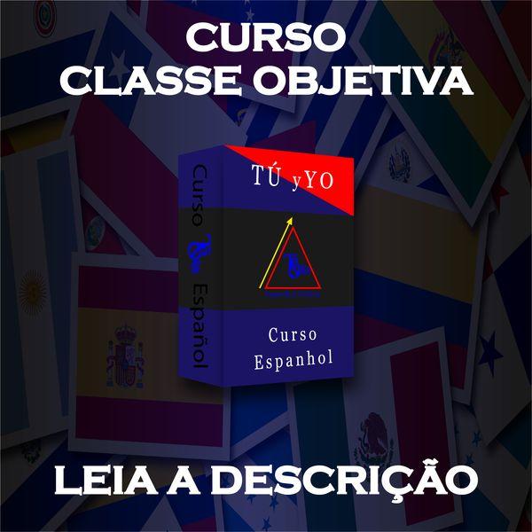 Imagem principal do produto Curso de Espanhol - Classe Objetiva