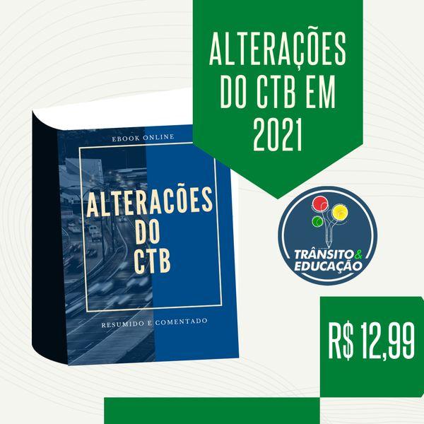 Imagem principal do produto Alterações do CTB em 2021