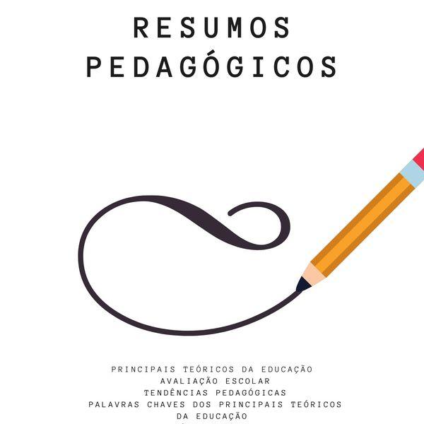 Imagem principal do produto Apostila Flashcards e Resumos Pedagógicos
