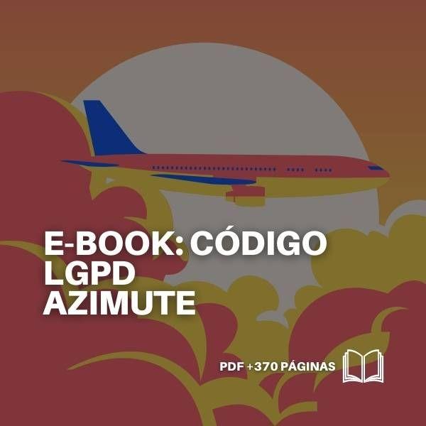 Imagem principal do produto E-book Código LGPD AZIMUTE