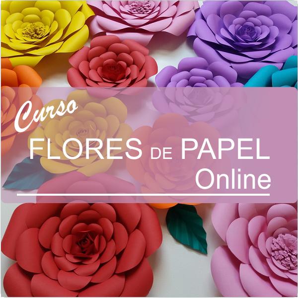 flores de papel online