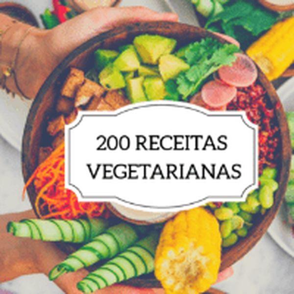 Imagem principal do produto 200 Receitas vegetarianas