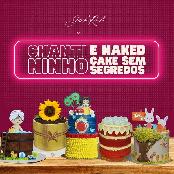 Imagem principal do produto Chantininho e Naked Cake sem segredos