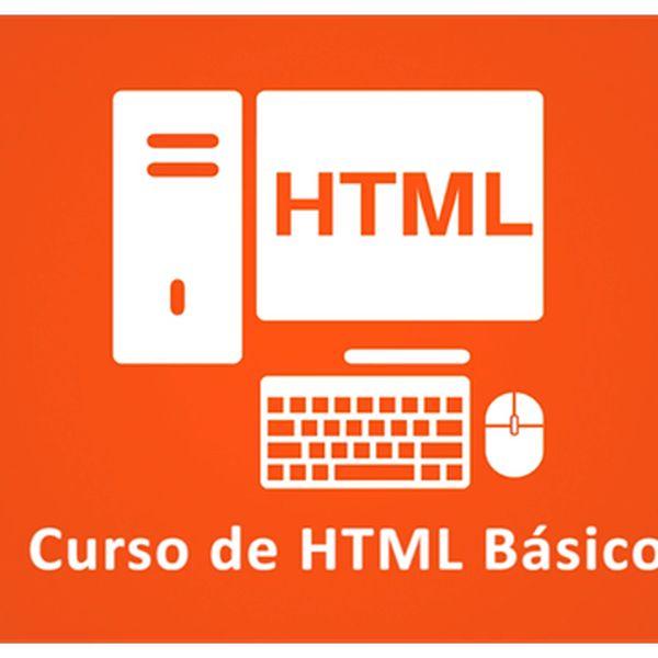 Imagem principal do produto Curso de HTML Básico