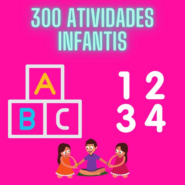 Imagem principal do produto 300 Atividades Infantis