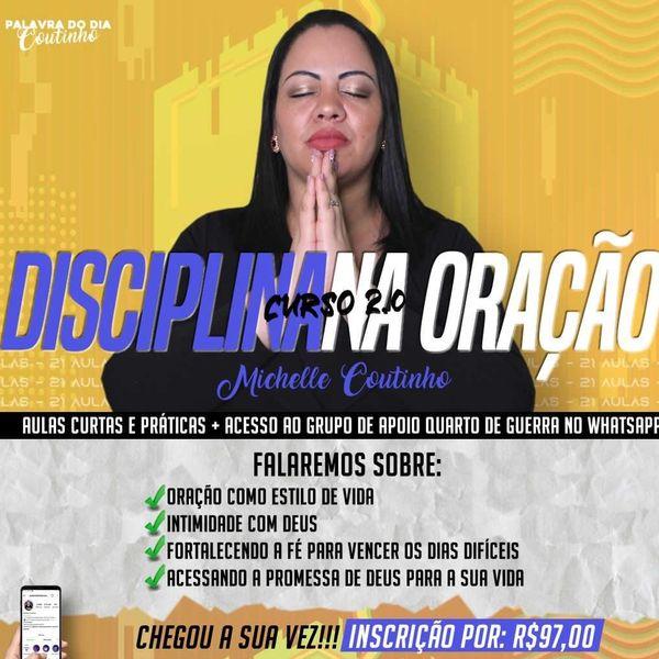 Imagem principal do produto Curso Disciplina na Oração 2.0