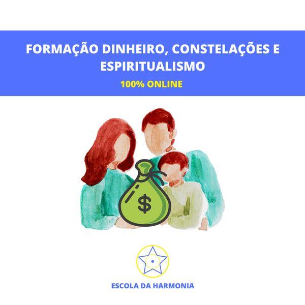 Imagem principal do produto Formação Dinheiro, Constelações E Espiritualismo
