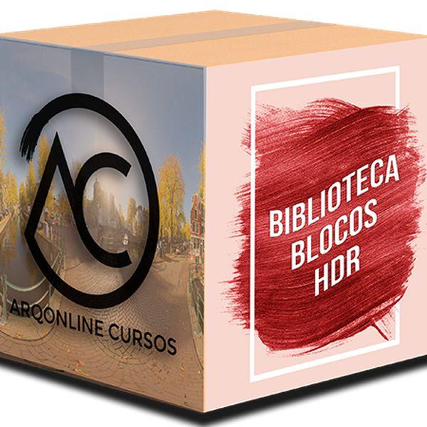 Imagem principal do produto Biblioteca Blocos HDRI