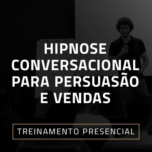 Imagem principal do produto Hipnose Conversacional para Persuasão e Vendas - Treinamento Presencial