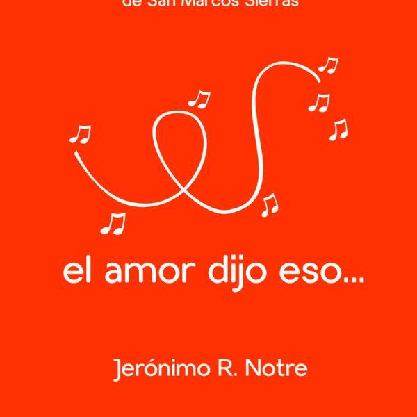 Imagem principal do produto El amor dijo eso...