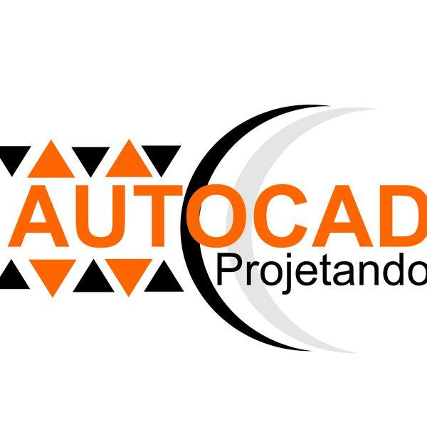 Imagem principal do produto Auto Cad. Projetando
