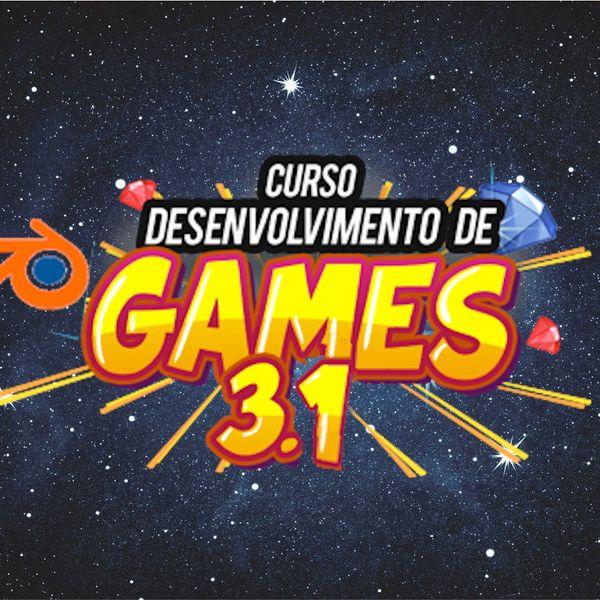 Imagem principal do produto Curso Completo De Desinvolvimento de Jogos Com Blender