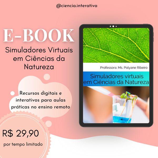 Imagem principal do produto E-book Simuladores Virtuais em Ciências da Natureza