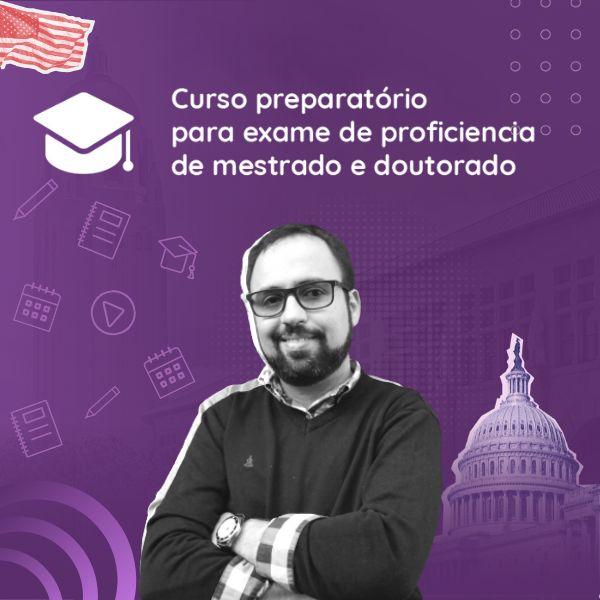 Imagem principal do produto Curso de inglês para mestrado e doutorado