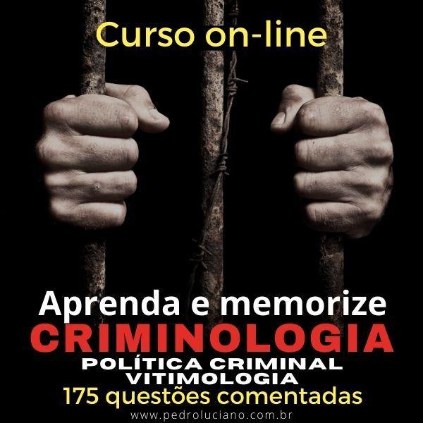 Imagem principal do produto CRIMINOLOGIA: aprenda e memorize.