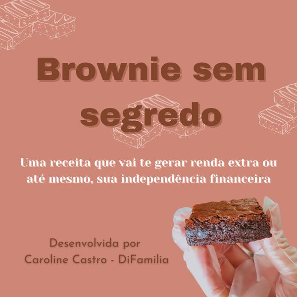Imagem principal do produto Brownie sem segredos