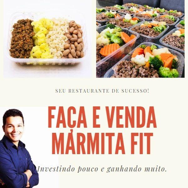 Imagem principal do produto FAÇA E VENDA SUA MARMITA FIT - DICAS E RECEITAS EXTRA