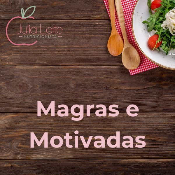 Imagem principal do produto Magras e Motivadas