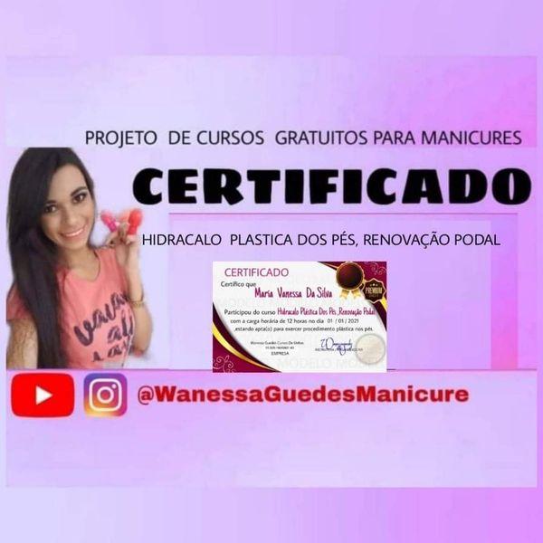 Imagem principal do produto CERTIFICADO  HIDRACALO RENOVAÇÃO PODAL