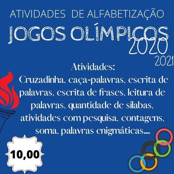 Imagem principal do produto Atividades Jogos Olímpicos