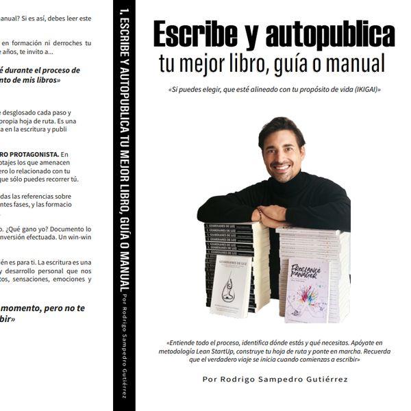 Imagem principal do produto Crece con tu libro. Escribe y autopublica tu mejor libro, guía o manual.