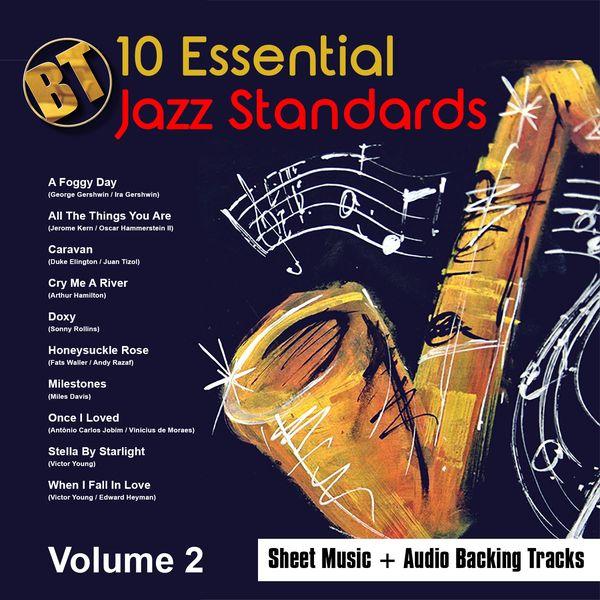 Imagem principal do produto 10 Essential Jazz Standards Vol.2 - Backing Tracks + Sheet Music EBook + BONUS