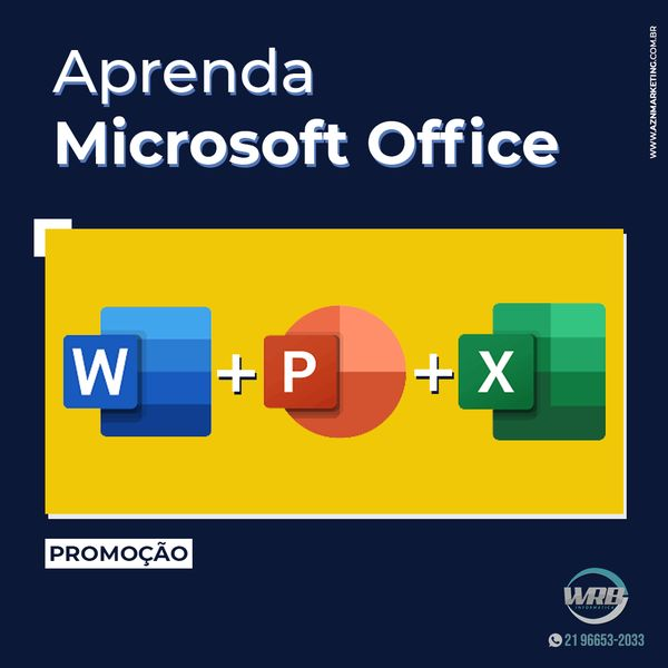 Imagem principal do produto Informática para o Mercado de Trabalho (Pacote Office )
