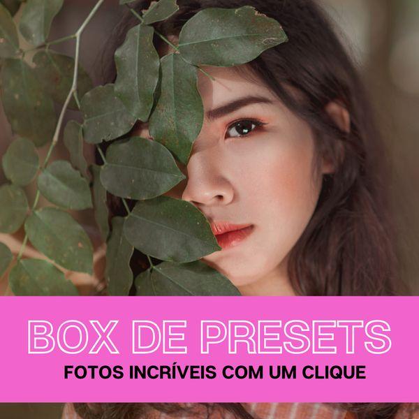 Imagem principal do produto Box de Presets