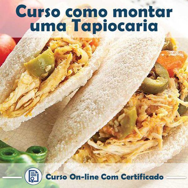 Imagem principal do produto Curso de Tapiocaria
