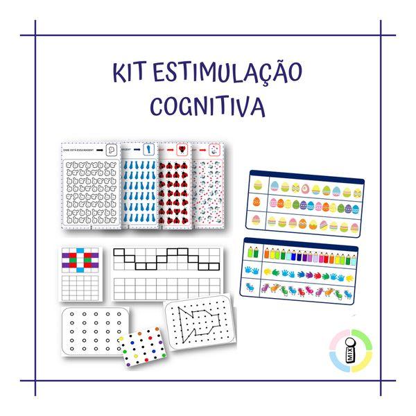 Imagem principal do produto KIT DE ESTIMULAÇÃO COGNITIVA