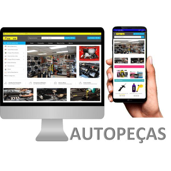 Imagem principal do produto Assinatura Loja Autopeças Aluguel Aplicativo e Site SaaS Cashback