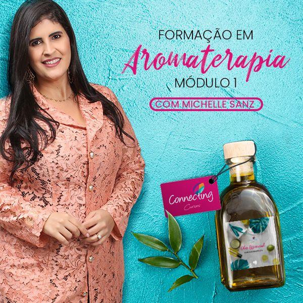 Imagem principal do produto CURSO FORMAÇÃO EM AROMATERAPIA - MÓDULO BÁSICO