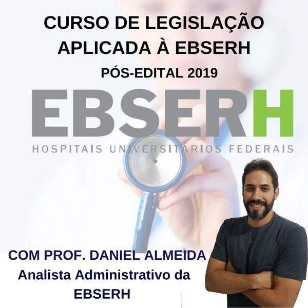 Imagem principal do produto CURSO DE LEGISLAÇÃO DA EBSERH PÓS EDITAL 2019