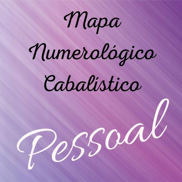 Imagem principal do produto Mapa Numerológico Cabalístico Pessoal - Numerologia