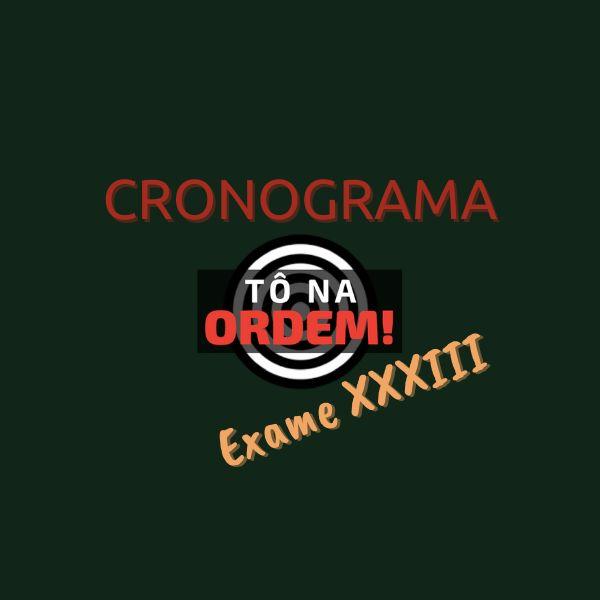 Imagem principal do produto CRONOGRAMAS TNO 3.0