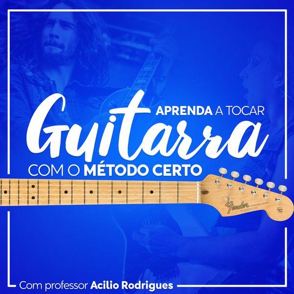 Imagem principal do produto Aprenda tocar guitarra com o método certo