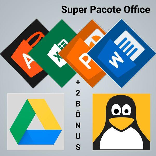 Imagem principal do produto Pacote Office - Cursos