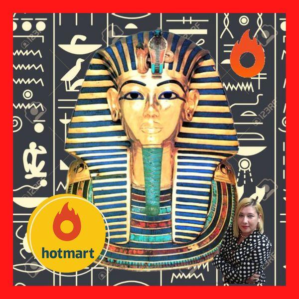Imagem principal do produto 1.000 SLIDES: Apostila sobre Egiptologia e a Decifração dos Hieróglifos Egípcios