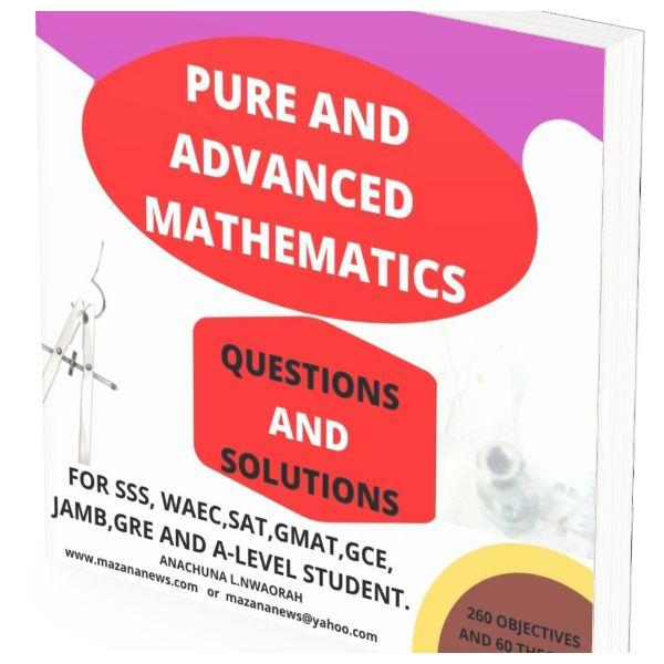 Imagem principal do produto Ordinary And Advance Mathematics Textbook, Questions And Solutions.
