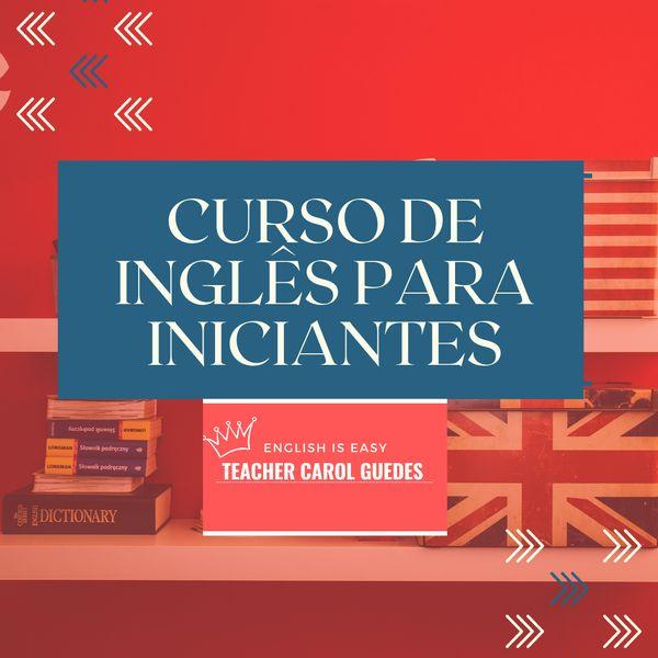 Imagem principal do produto Curso de inglês para iniciantes- English is easy