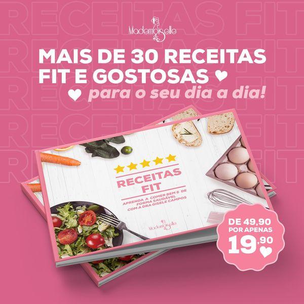 Imagem principal do produto As mais gostosas receitas fit para quem quer emagrecer e comer bem!