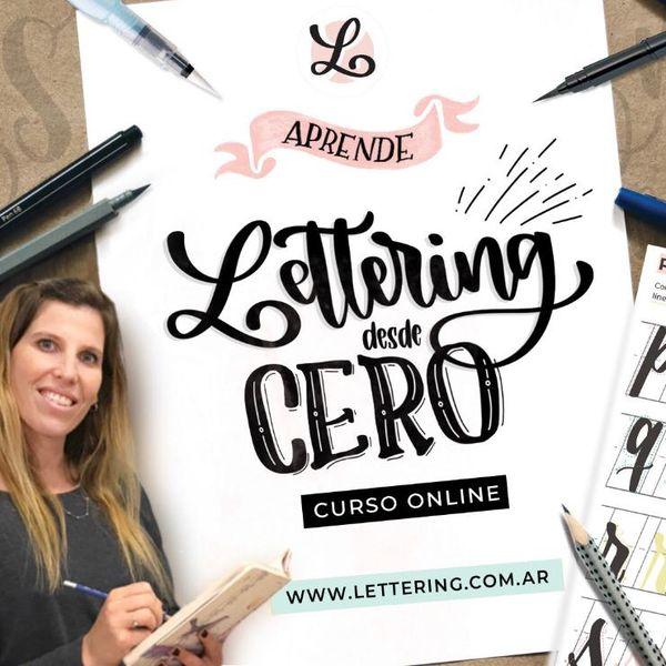 Imagem principal do produto LETTERING DESDE CERO - Trucos, estrategias y secretos.