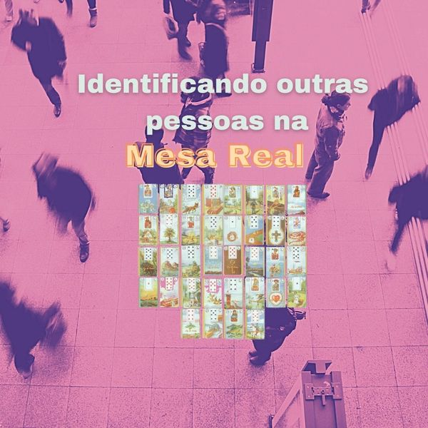 Imagem principal do produto Identificando Outras Pessoas Na Mesa Real