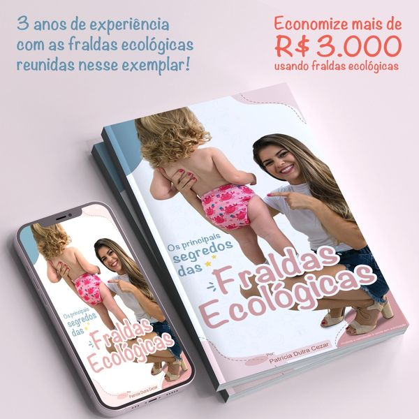 Imagem principal do produto FRALDAS ECOLÓGICAS - Os principais SEGREDOS!