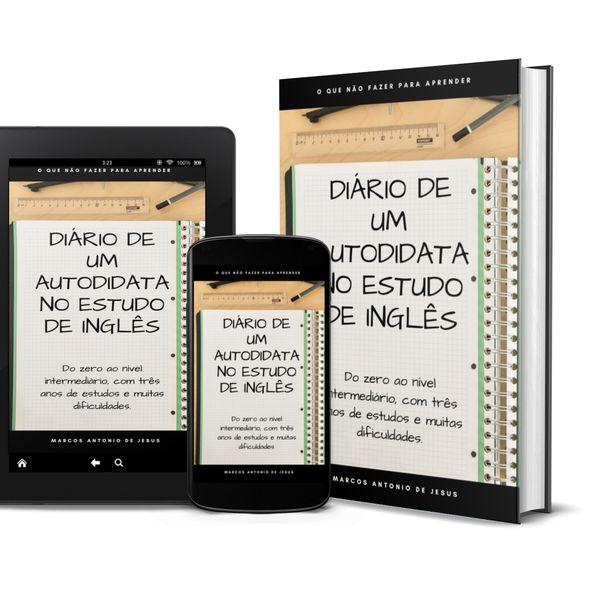 Imagem principal do produto Diário de um autodidata no estudo de inglês