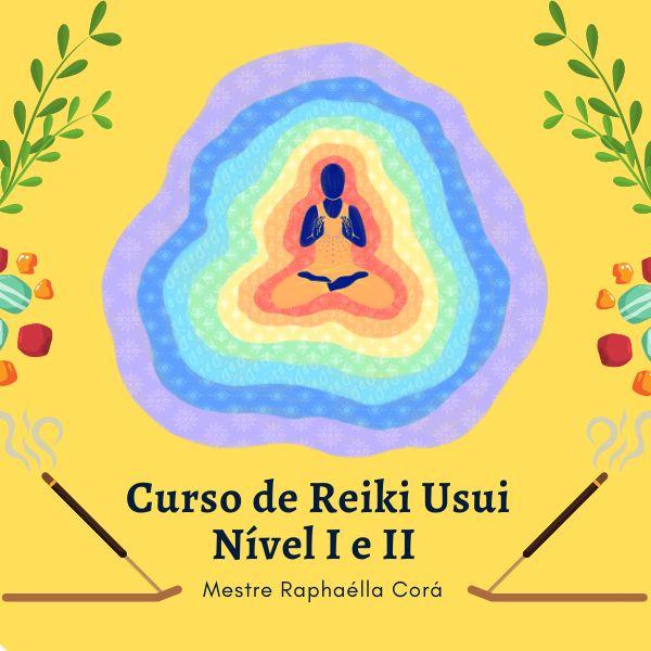 Imagem principal do produto Curso de Reiki Usui Nível I e II