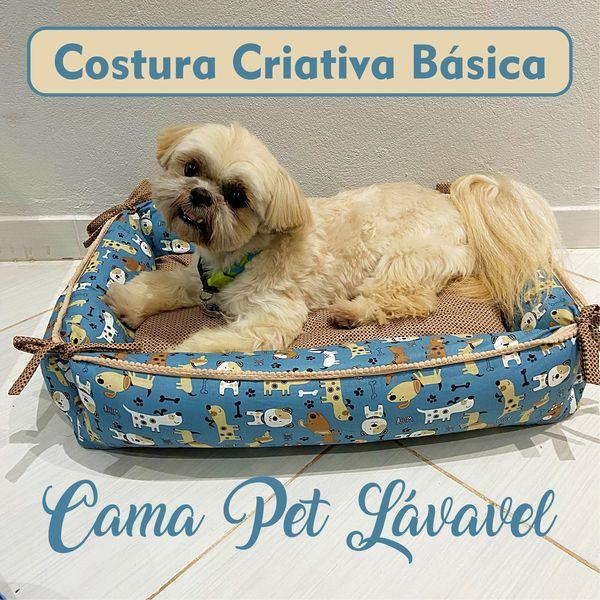 Imagem principal do produto Costura Criativa Básica: Cama Pet Lavável
